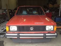 volkswagen rabbit truck custom vwvortex com midwest 1981 volkswagen rabbit 2 0 aba caddy