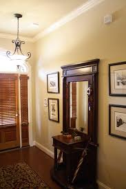 Bench By Front Door Rustic Hall Tree Bench Entry Traditional With Wood Flooring