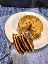 carrot cake buckwheat pancakes vie de la vegan