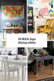 Ikea Dining Room by 18 Cool Ikea Ingo Table Ideas And Hacks You U0027ll Love Digsdigs