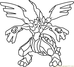 pokemon coloring pages totodile zekrom pokemon coloring page free pokémon coloring pages