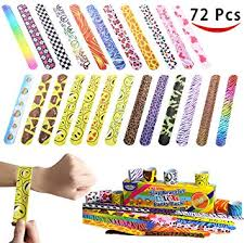 party favor bracelets joyin 72 pcs slap bracelets party favors pack 24