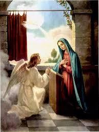 O anjo disse-lhe: Não temas, Maria, pois encontraste graça diante de Deus. Eis que conceberás e darás à luz um filho, e lhe porás o nome de Jesus. Ele será grande e chamar-se-á Filho do Altíssimo, e o Senhor Deus lhe dará o trono de seu pai Davi; e reinará eternamente na casa de Jacó, e o seu reino não terá fim. (Lc 1, 30-33)