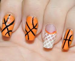 best 10 basketball nails ideas on pinterest softball nails