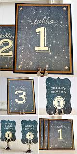 Wedding Table Numbers Ideas 35 Inspirational Ideas To Make A Stunning Starry Night Wedding