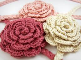 crochet headbands for babies pink crochet headband baby girl hair accessories