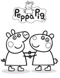 peppa pig coloring pages a4 peppa pig drawing at getdrawings com free for personal use peppa