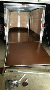 Line X Floor Coating by Enclosed Trailer Floor Coating Lawnsite