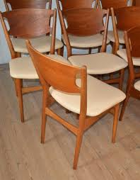 Esszimmerst Le Preis Modell 42a Esszimmerstühle Von Helge Sibast 1953 8er Set Bei