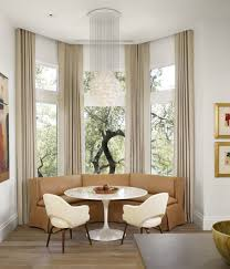 curtain ideas for breakfast nook amazing breakfast area curtain