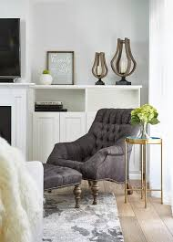 brilliant corner living room reading chair with matching ottoman
