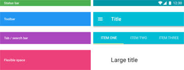 android layout collapsemode scrolling techniques for material design