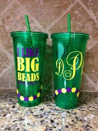 mardi gras cups large 23 6 oz mardi gras cup personalized on etsy 20 00 cameo
