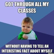 First Day Of Class Meme - success kid on the first day of school weknowmemes