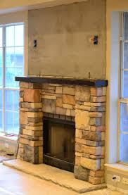 fireplace renovation u2013 laying stone u2013 front porch cozy