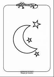 smartness inspiration moon coloring star moon coloring