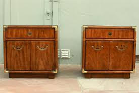 drexel heritage accolade campaign nightstands pair in shoreline