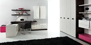 chambre fille et blanc chambre noir et blanc ado fille