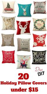 Best 25 Pottery Barn Christmas Merry Christmas Pillow Cover Pottery Barn Inside Holiday Pillow