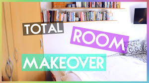 Redecorating My Room Total Bedroom Makeover Watch Me Decorate My Room 2015 Youtube