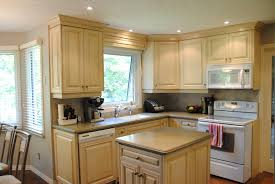 Kitchen Cabinets Oak Home Design Enchanting Kitchen Design With Revere Pewter And Oak