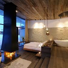 Wohnzimmer Und Esszimmer Kombinieren Gemütliche Innenarchitektur Schlafzimmer Und Badezimmer