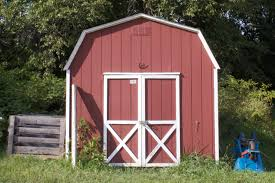 gambrell roof decor u0026 tips charming garden shed with barn door and wood siding