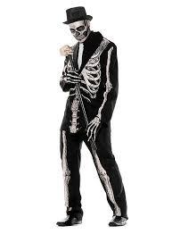 skeleton costume gentleman skeleton costume maskworld