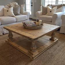 Country Coffee Table by Rustic Farmhouse Cottage Baluster Coffee Table Rustic Farmhouse