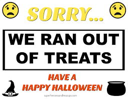 free images of happy halloween free printable halloween signs