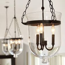 Glass Shade Chandelier Drum Shade Chandelier Rustic Editonline Us