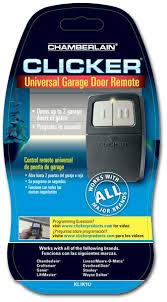 How To Adjust A Craftsman Garage Door Opener by Clicker Klik1u Universal 2 Button Garage Door Opener Remote