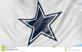 Cowboys Flag Close Up Of Waving Flag With Dallas Cowboys Nfl American Football