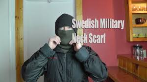 swedish military neck scarf military surplus preview youtube
