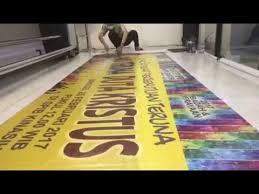cara membuat x banner dengan publisher erbe printshop banner finishing more faster youtube