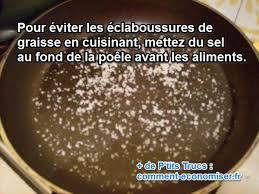 poele pour cuisiner le truc pour cuire ses aliments à la poêle sans faire d éclaboussures