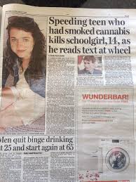 Texting While Driving Meme - blaming weed for someone who was texting while driving trees