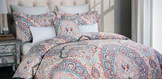Gray Paisley Duvet Cover Miller Bedding Sets