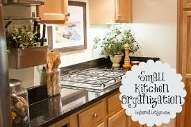Small Kitchen Organizing - to organize your entire house