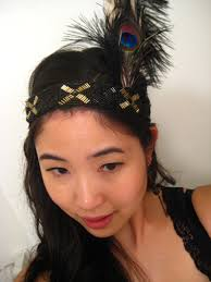flapper headband diy diy flapper headband the sewing fashionista