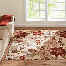 Floral Area Rug Better Homes And Gardens Floral Ivory Area Rug And Runner