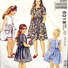 90s dress 90s mccalls 6018 easy dress and shorts or bloomers pattern