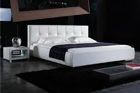 design polsterbett polsterbett loft inkl lattenrost kunstleder design weiß