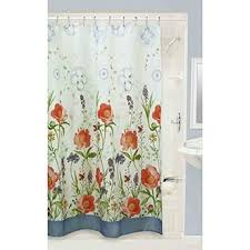 Orange And Blue Shower Curtain Shower Curtains Every Color U0026 Size Save Up To 72 Off Shop