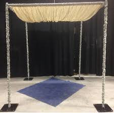 chuppah rental chuppah kit white broadway party tent rental