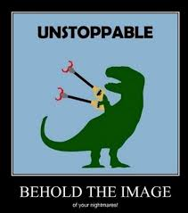 T Rex Meme Unstoppable - i had t rex arms for a few days after my prophylactic bilateral
