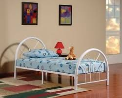 Youth Bed Frames New Metal Size Kid Bed Frame With Headboard And Footboard Ebay