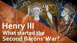 what started the second barons war henry iii and his barons