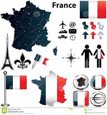 France Region Map by Map Of France With Regions Stock Images Image 30627644