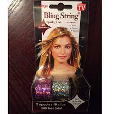hair extensions as seen on tv 79 as seen on tv accessories as seen on tv bling string